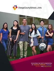 Orange County School of the Arts Overview Brochure