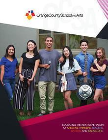 Orange County School of the Arts Overview Brochure
