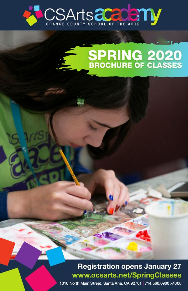 CSArts Academy at OCSA Spring 2020