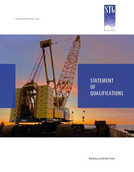 STG Statement of Qualifications June 2014