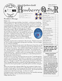 Hawberry Quilter