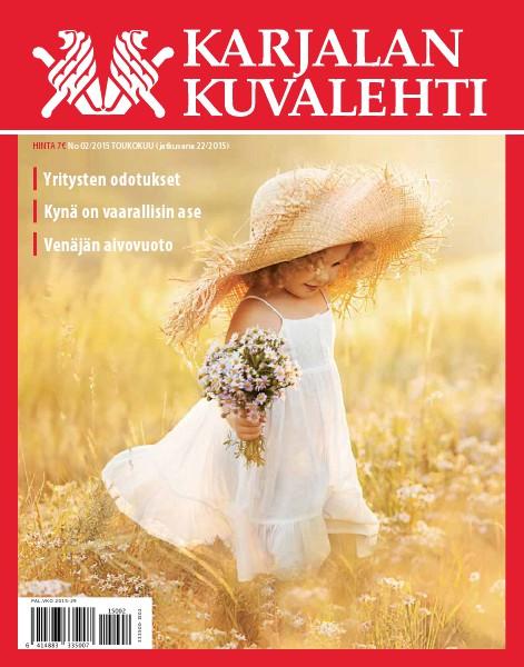 Karjalan Kuvalehti 04/2018 eli numero 36 22 eli 02/2015 Toukokuu