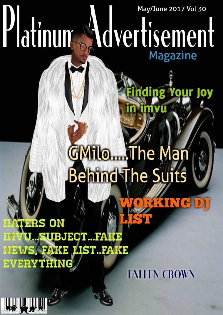 Platinum Advertisement Magazine May/June 2017 Vol 30