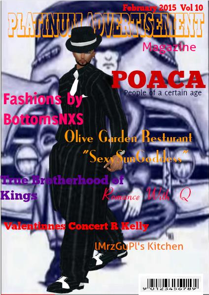 Platinum Advertisement Magazine Volume 10 Feburary 2015 issue