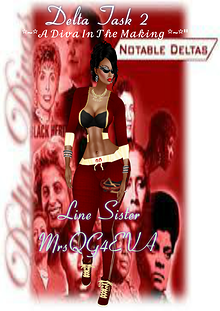 Task 2...Sisters of Delta Interviews July vol 1