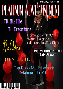 Platinum Advertisement Magazine