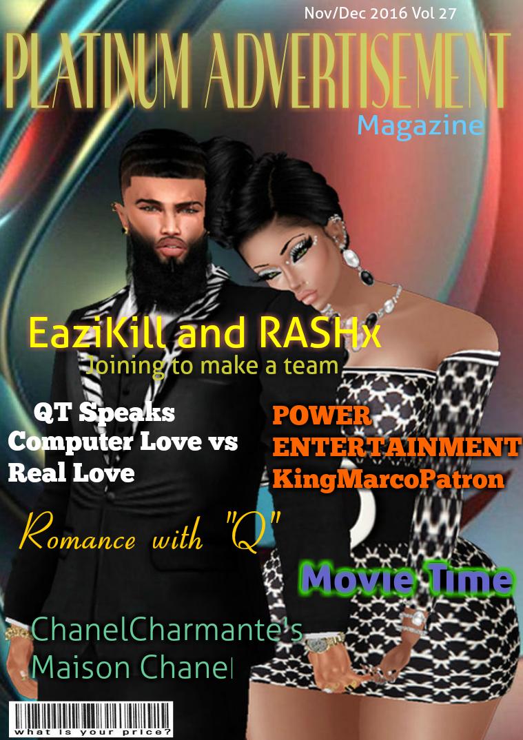 Platinum Advertisement Magazine Nov/Dec Vol 27 2016