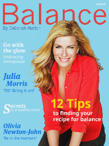 Balance By Deborah Hutton Issue #1. December 2013