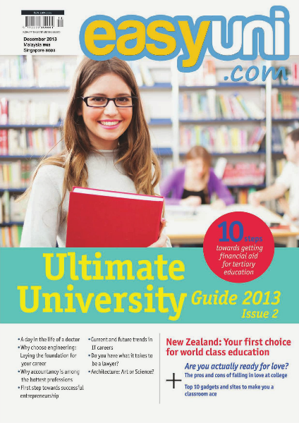 EASYUNI Ultimate University Guide 2013 Issue 2