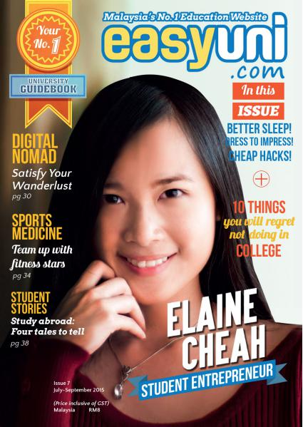 EASYUNI Ultimate University Guide 2013 Issue 7