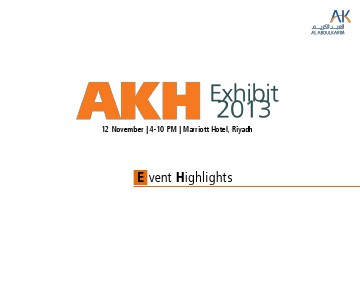 AKH Exhibit 2013 November 2013