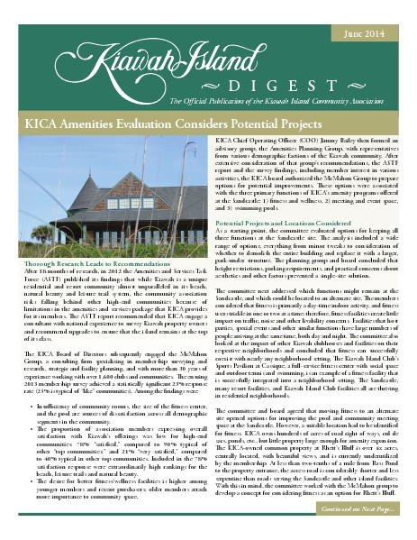 Kiawah Island Digest June 2014