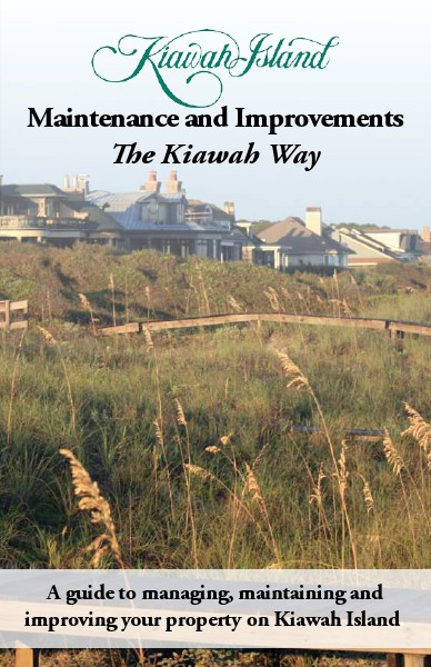 Maintenance and Improvements The Kiawah Way Final