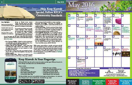 Kiawah Island Digest May 2016 Page 4