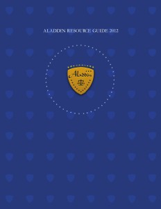 Aladdin Resource Guide 2012 Aladdin Resource Guide 2012