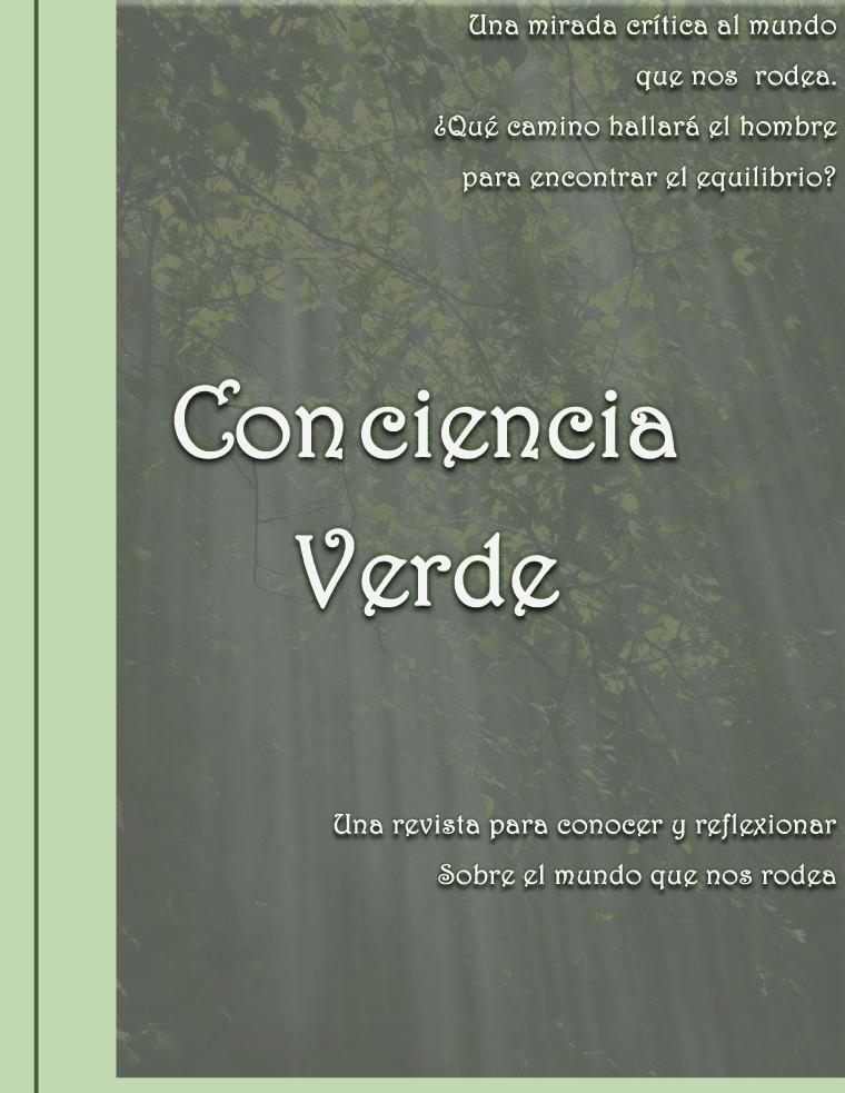Revista Conciencia Verde Revista Conciencia Verde - Marta Persichini