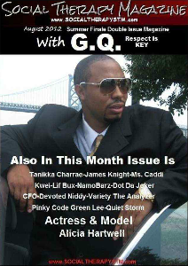 Social Therapy Magazine Sept Feature Artist Lashawn Creed Aug 2012