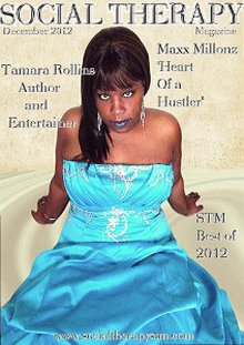 Social Therapy Magazine Features Author Tamara Rollins