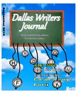 Dallas Writers Journal Sep. 2012