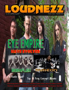 LOUDNEZZ November 2013 Issue 1 Volume 1