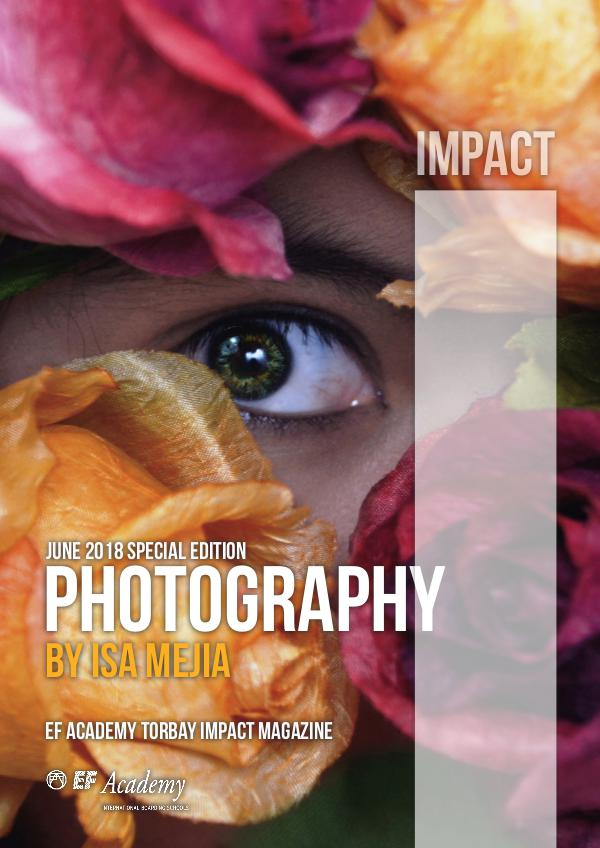 Photography Special Edition - Isa Mejia