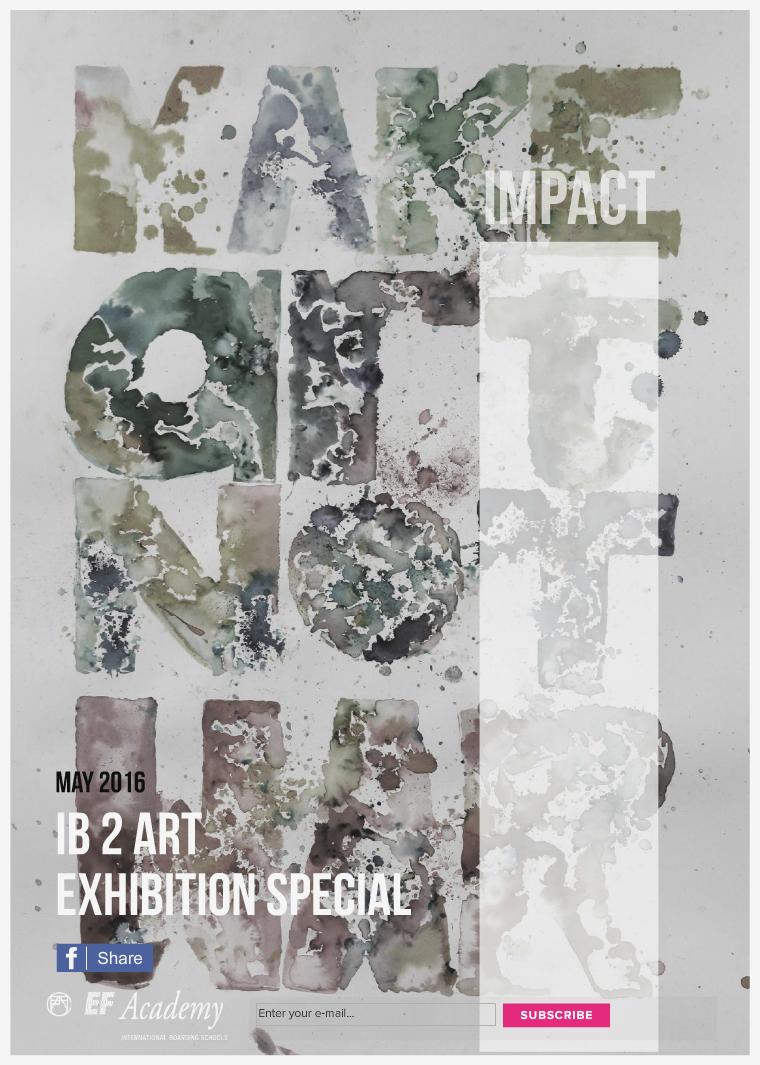IB 2 Art Exhibiton