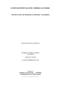 Proyecto Final de DPA (e.g. Nov. 2013)