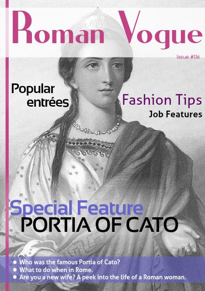 Women in Ancient Rome (June 2014)