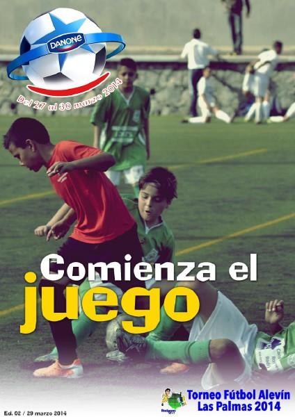 """Torneo Las Palmas 2014 """"Danone Nations Cup"""" Comienza el juego"""