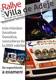 XVI Rallye Villa de Adeje
