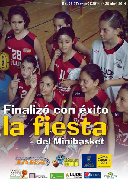 Torneo Gran Canaria 2014 Finalizó con éxito la fiesta del Minibasket