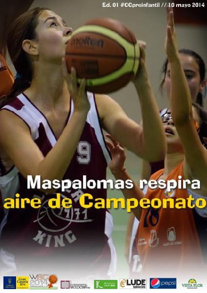 #CCpreinfantil Maspalomas respira aire de Campeonato
