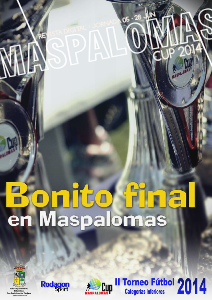 Maspalomas Cup 2014 Bonito final en Maspalomas
