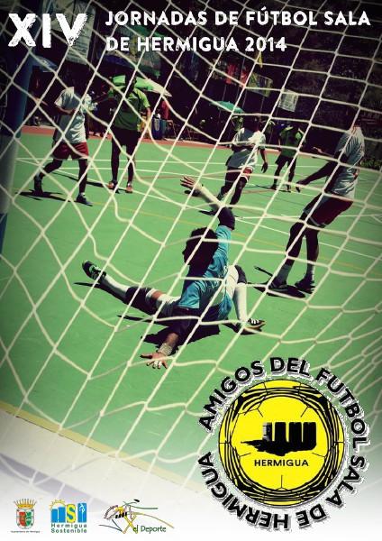 Amigos del Fútbol Sala de Hermigua XIV Jornadas de Fútbol Sala Hermigua 2014
