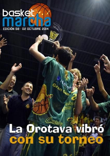 Basket Marcha 2014 La Orotava vibró con su torneo
