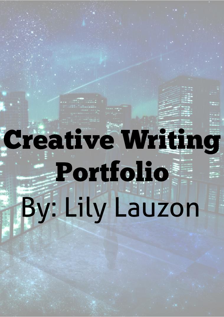 Creative Writing Portfolio 1
