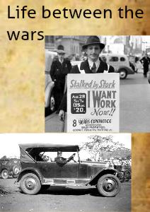 Life between the wars 11/29/2013