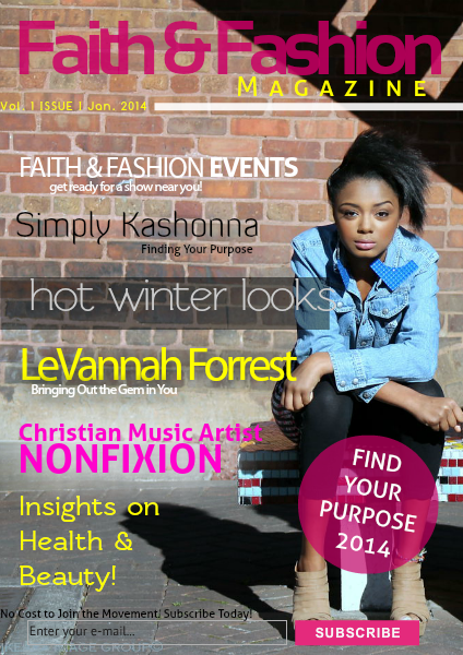 Faith & Fashion Volume 1 Issue 1