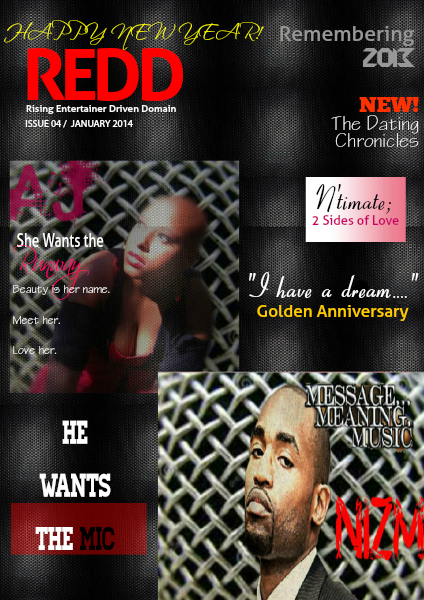Redd Magazine :Rising Entertainer Driven Domain- January Issue