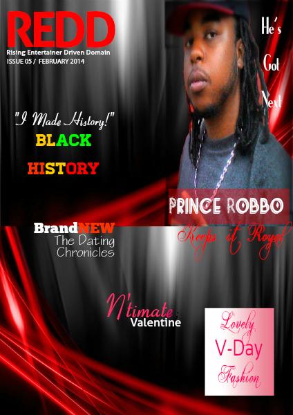 Redd Magazine February Issue- Black History & Valentine's