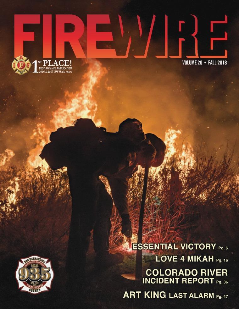 FIREWIRE Magazine Fall 2018