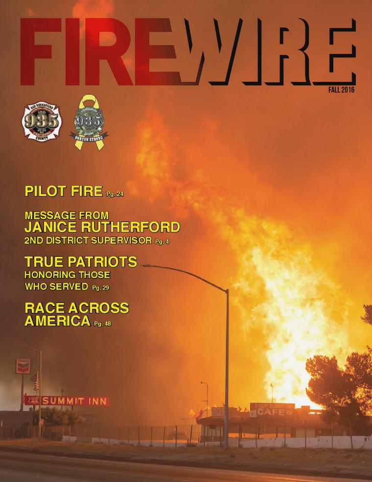 FIREWIRE Magazine Fall 2016