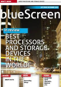 BlueScreen December 2013