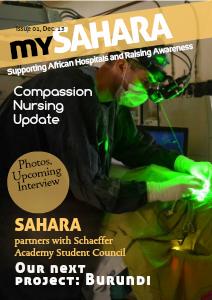 SAHARA Newsletter Dec. 2013