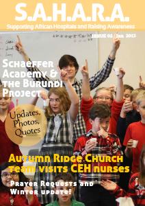 SAHARA Newsletter (Jan 2014)