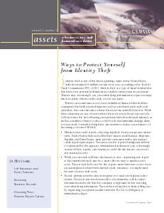 Test Magazine Title June 2013