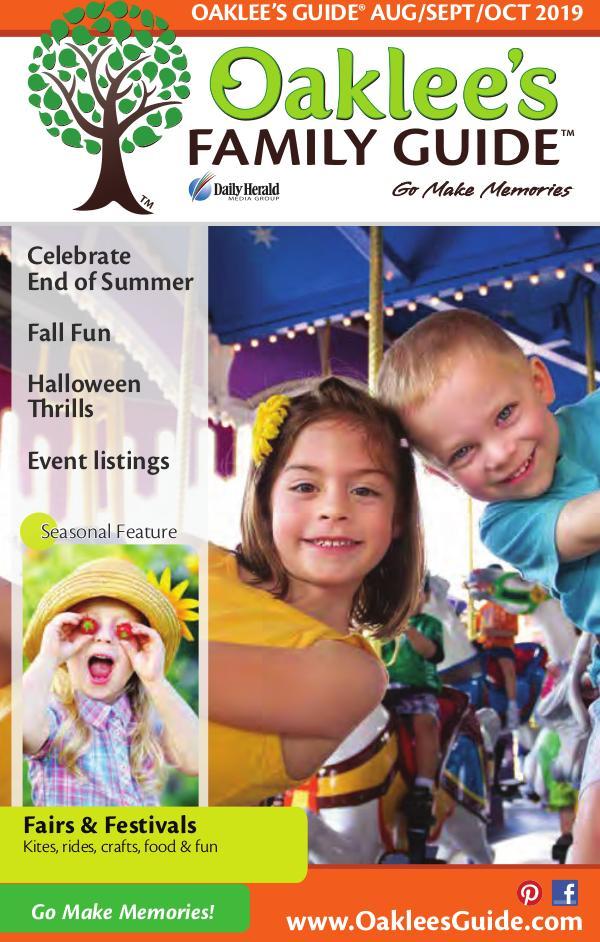 Oaklee's Family Guide August/September/October 2019
