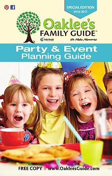 Oaklee's Party and Event Planning Guide