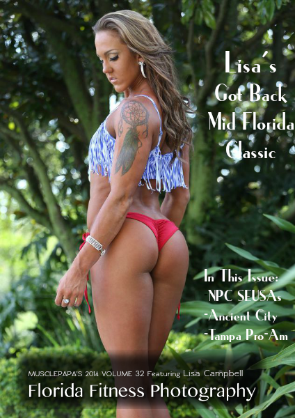 Volume 32 featuring Lisa Campbell