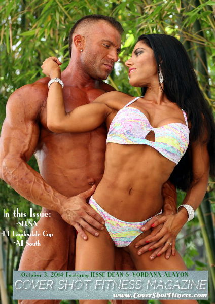 Cover Shot Fitness Magazine Issue 3 Featuring Jesse & Yordana